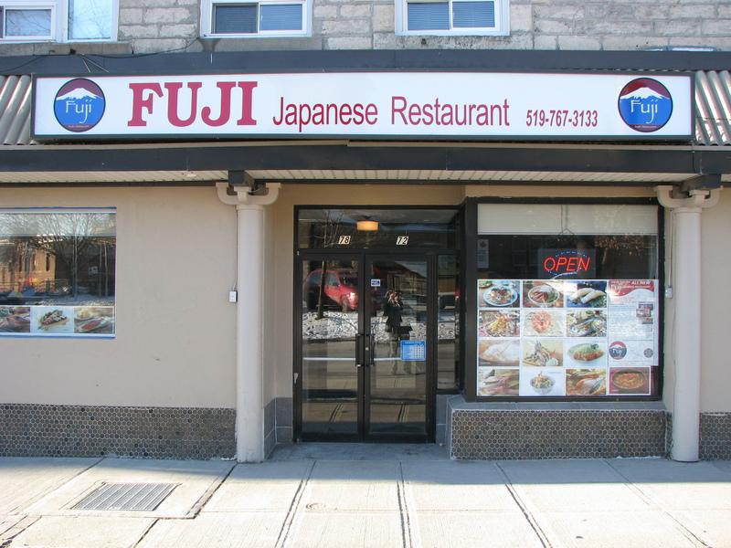 Fuji Sushi Japanese Restaurant Ottawa