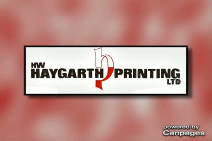 video H W Haygarth Printing Ltd