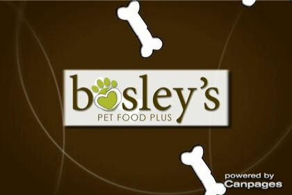 video Bosley&#039;s Pet Food Plus
