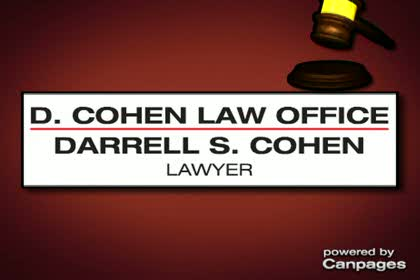 video Darrell S Cohen Lawyer