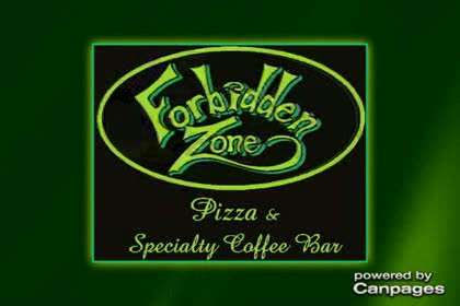 video Forbidden Zone Pizza & Specialty Coffee Bar