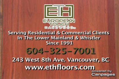 video European Touch Hardwood Floors