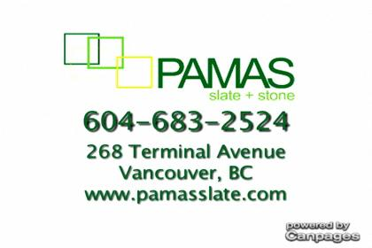 video Pamas Slate &amp; Stone Supplies Inc
