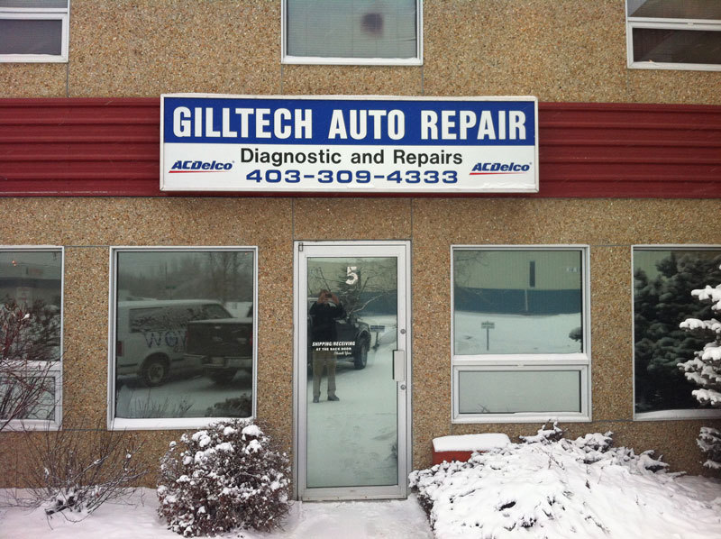 Gilltech auto repair red deer ab 5 4608 62 st for Salon de coiffure lachine