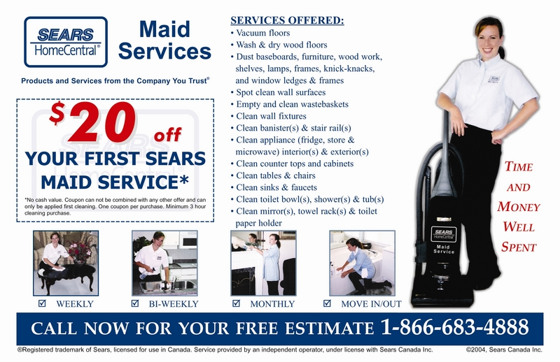 Sears Maid Service | Canpages