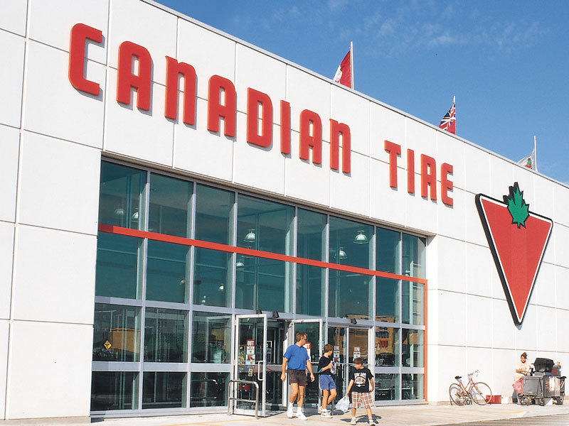 photo Canadian Tire Stores