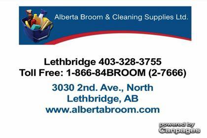 Alberta Broom Amp Cleaning Supplies Ltd Lethbridge Ab