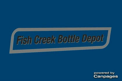 video Fish Creek Bottle Depot