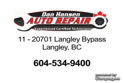 video Dan Hansen Auto Repair