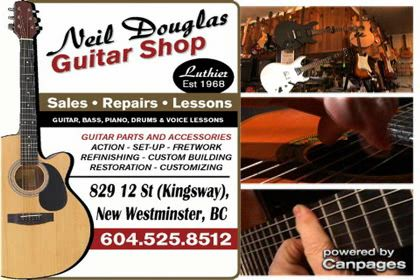 video Neil Douglas Guitar Shop