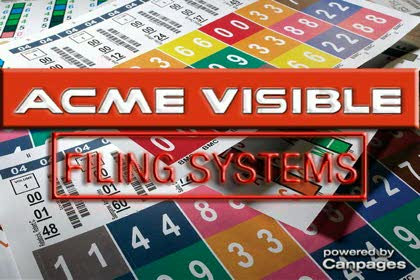 Acme Visible Filing Systems Ltd Burnaby Bc 140 8061