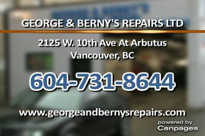 video George & Berny's Repairs Ltd