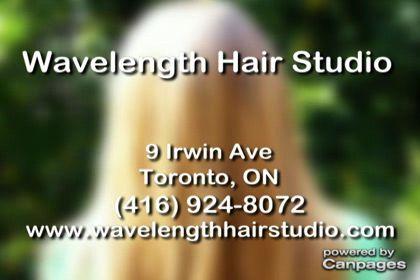 video Wavelength Hairstudio