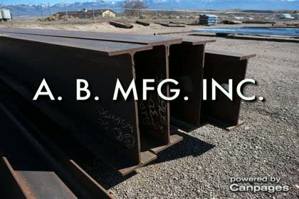 video AB MFG Welding and Fabrication