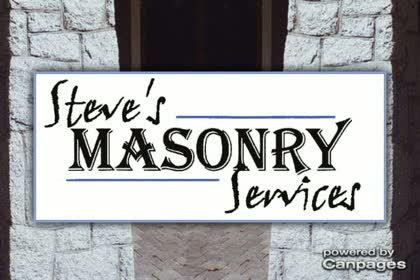 video Steve's Masonry Service