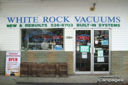 video White Rock Vacuum & Sewing