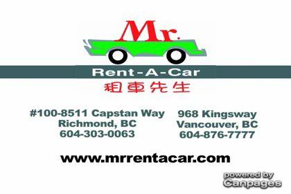 video Mr Rent-A-Car