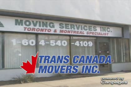 video Trans Canada Movers Inc