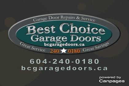 video Best Choice Garage Door Services