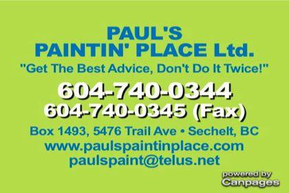 video Paul's Paintin Place