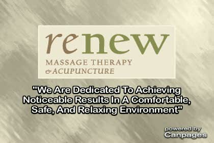 video Renew Massage Therapy & Acupuncture