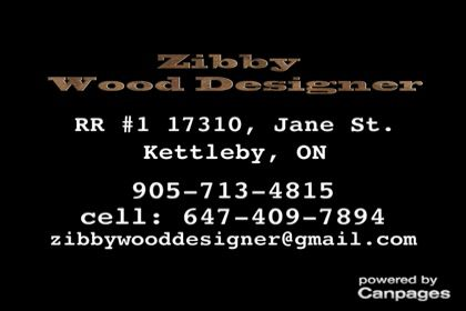 video Zibby Wood Designer