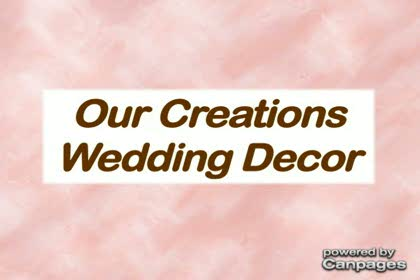video Our Creations Wedding Decor