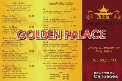 video Golden Palace Restaurant